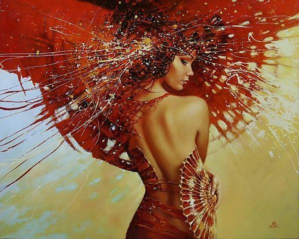 Red Fantasy Girl, Magic Beauties 1