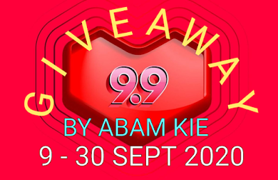9.9 Giveaway by Abam Kie