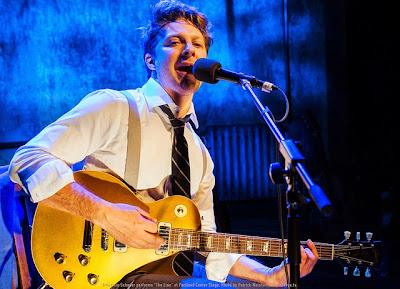 "Benjamin Scheuer performs ""The Lion"" at Portland Center Stage. Photo by Patrick Weishampel/http://blankeye.tv."