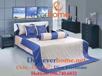 Bộ Chăn Ga Gối Everhome Premium EP-307