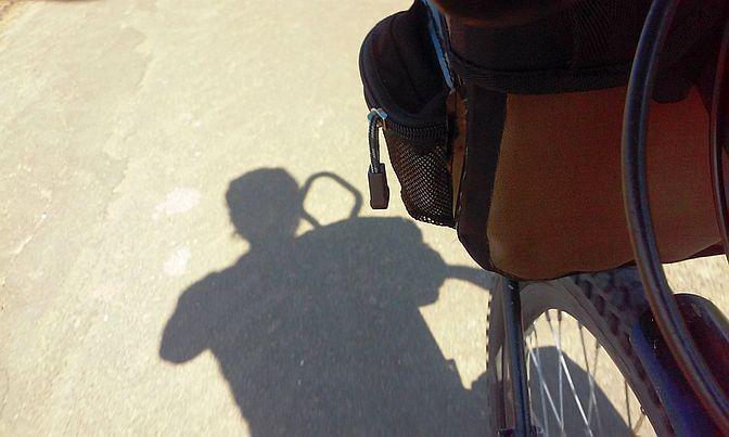 Miri on the Bike: Schatten auf dem Zellertal-Radweg