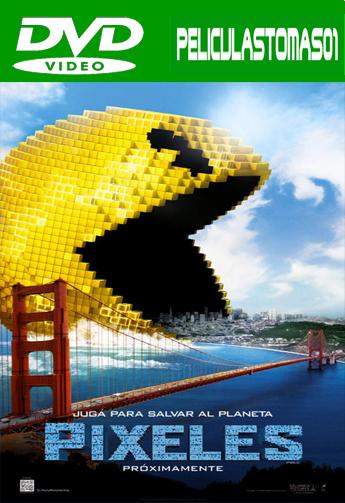 Pixeles (Pixels) (2015) DVDRip