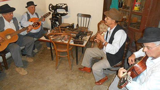 Musikanten in La Aldea de San Nicolas de Tolentino, Gran Canaria