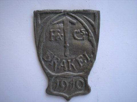 Naam: BrakelPlaats: HaarlemJaartal: 1910