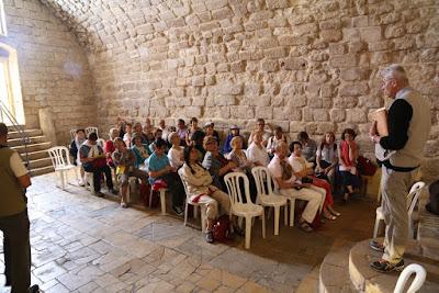 07/ Nous sommes dans la plus vielle église judéo-chrétienne (III ème),