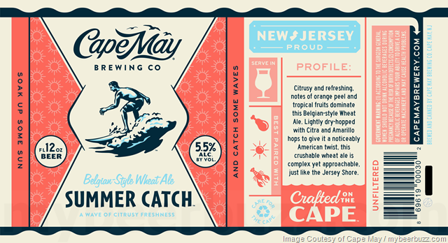 Cape May Brewing Summer Catch Coming To Cans