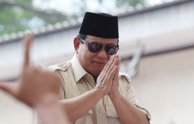 Pesan Menggetarkan Prabowo Subianto di Hari Lebaran