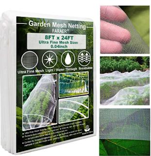 garden mesh netting, protective mesh netting for plants