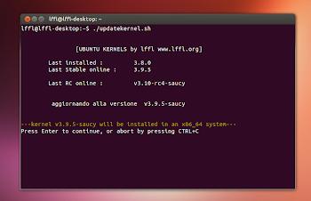 installazione Kernel da script lffl