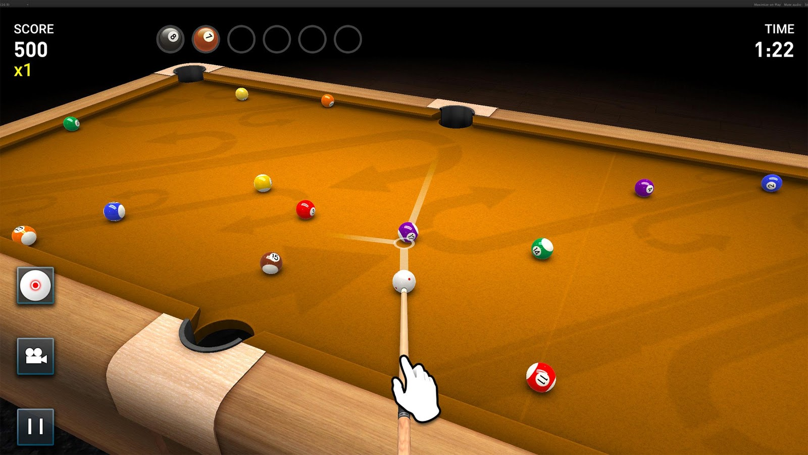 play 3d pool games