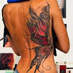 girl back - tattoo designs