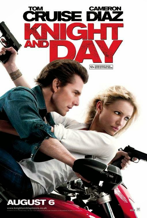 Poster Of Knight and Day (2010) Full Movie Hindi Dubbed Free Download Watch Online At Alldownloads4u.Com
