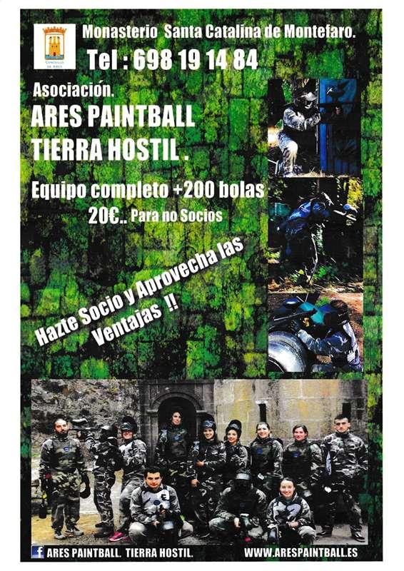 Numancia de Ares. ARES-PAINTBALL TIERRA HOSTIL.