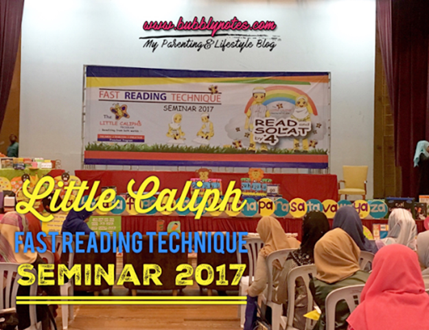 LITTLE CALIPH FAST READING TECHNIQUE SEMINAR 2017