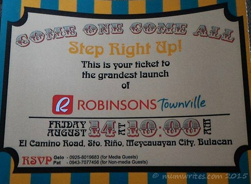 announcement, events, shopping, shopping, promos in the Philippines, Robinsons Townville