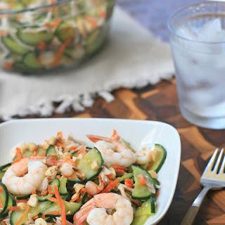 Goi Dua Chuot- Cucumber and Shrimp Salad