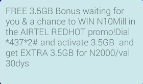 How To Get 7GB With N2000 On Airtel Nigeria 1