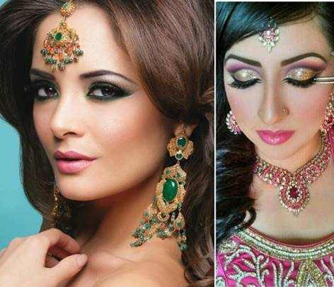 ... Indian bridal makeup looks. We can also increase its beauty by adding different glitters. Select one shade of your choice and apply it on lid.