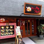 Japanese curry house in Akihabara in Akihabara, Tokyo, Japan