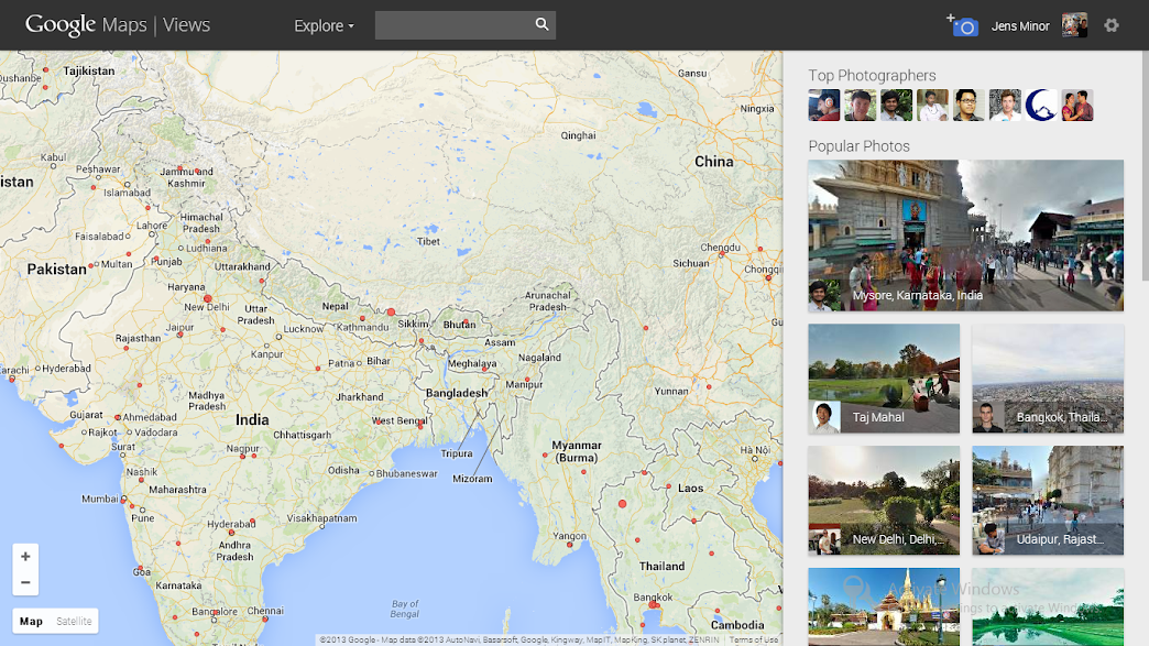 Maps Views