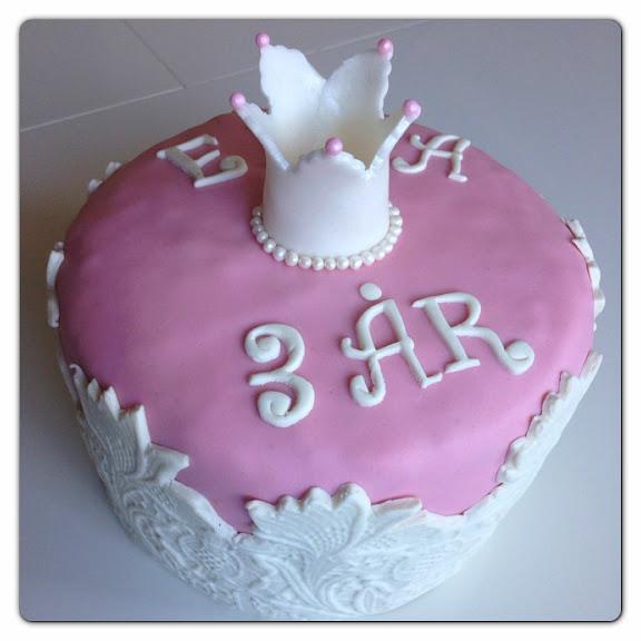 Tårta till en prinsessa