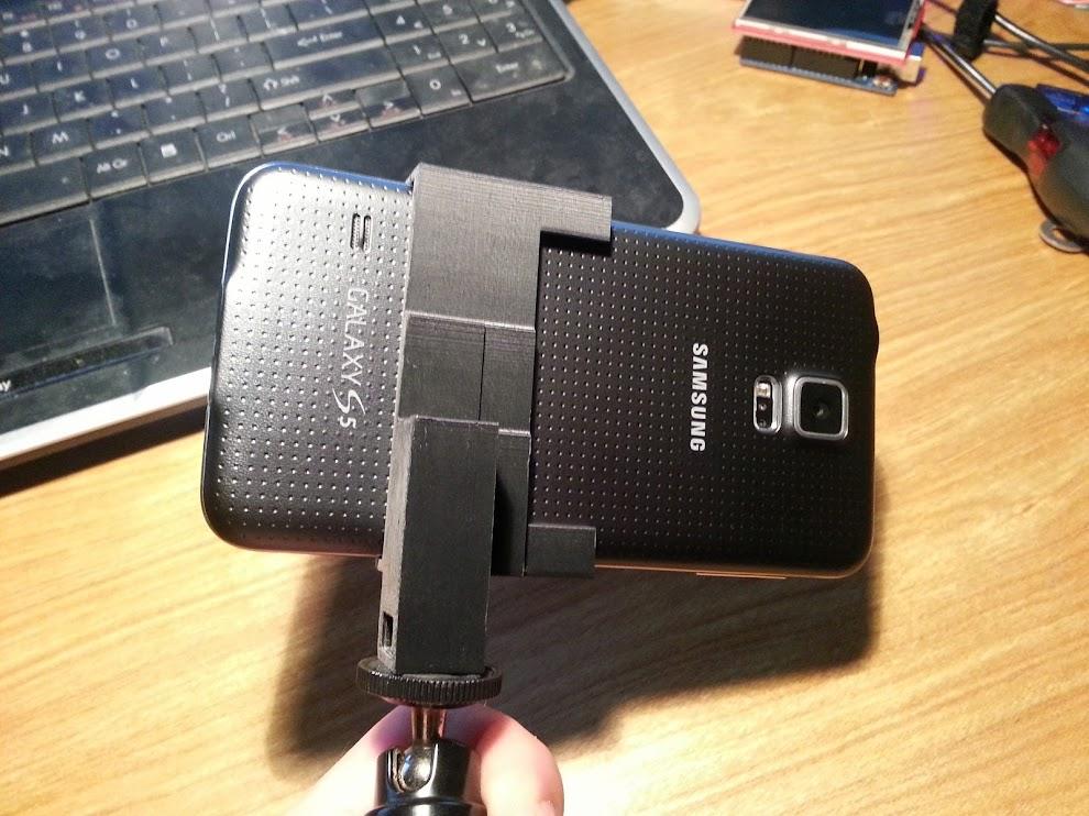 Galaxy S5 Tripod Mount