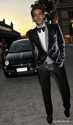 Fiat 500 and Jon Kortajarena