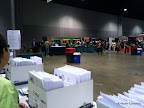 More of the Expo scene from my packet pick up spot. It was pretty slow going on Day 1.