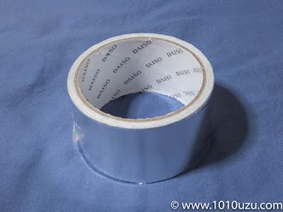 100円ショップのアルミテープ