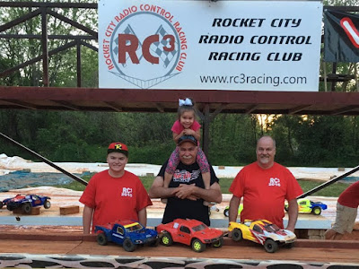 4WD SCT - 1st: Richard Allan Beatty, 2nd: Tyler Schrimsher, 3rd: Blane Hagler