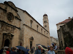 On Stradun, Dubrovnik's main street