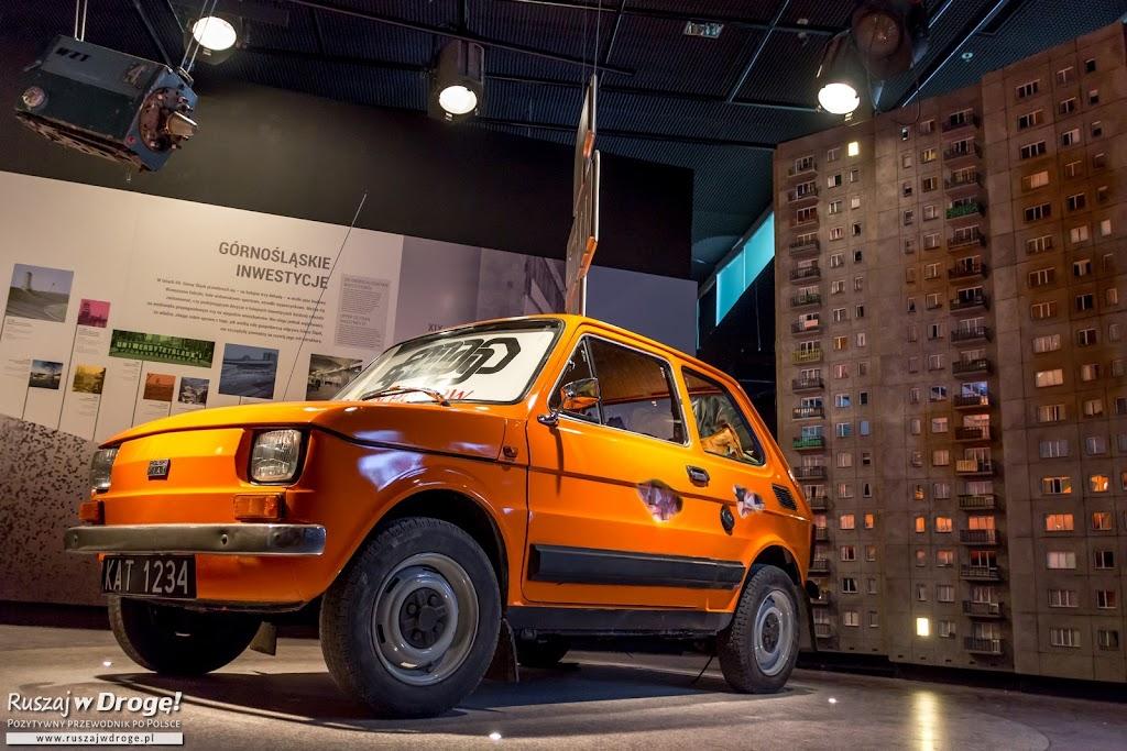 Fiat 126p w Muzeum Śląskim w Katowicach