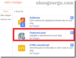 How to Add Featured Posts Widget in Blagger2