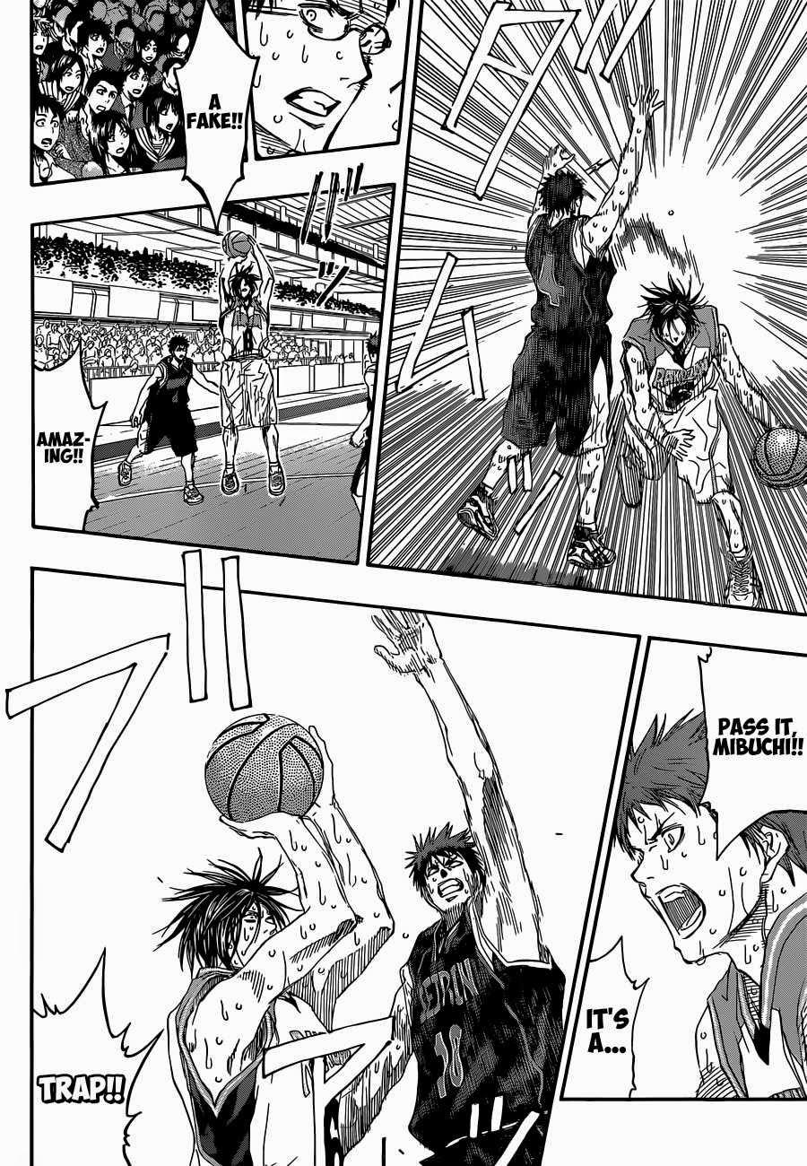 Kuroko no Basket Manga Chapter 271 - Image 10