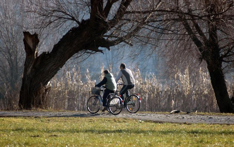 Coppia in bicicletta di benny48