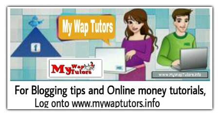 Get Blogging tips from My Wap Tutors