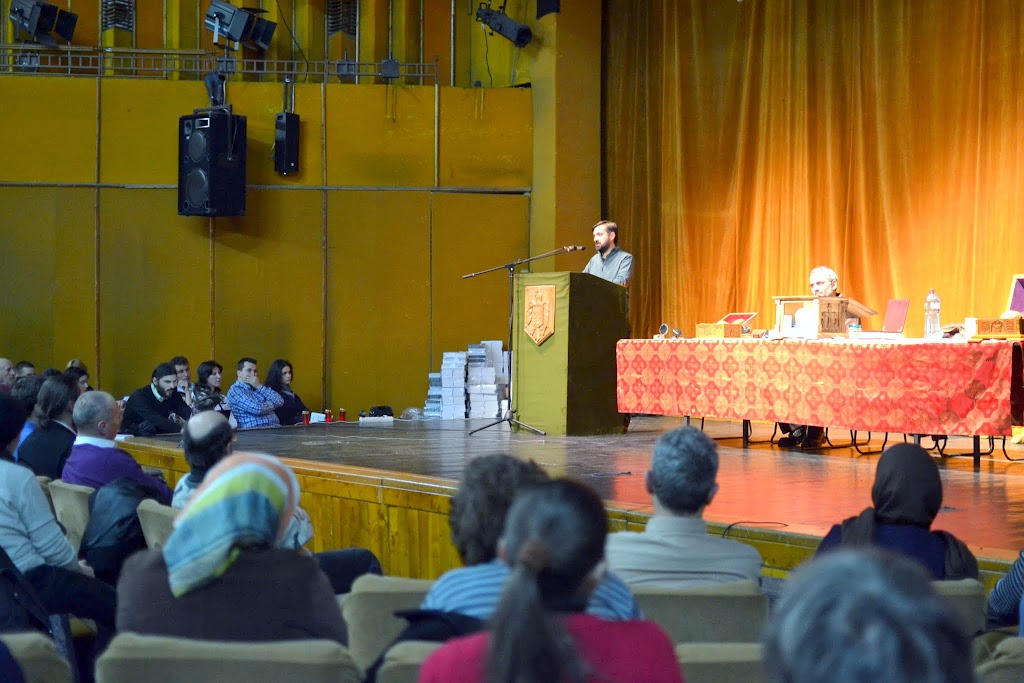 048 Avva Justin Parvu si Sfintii inchisorilor (Teatrul Luceafarul, Iasi, 2014.03.19)