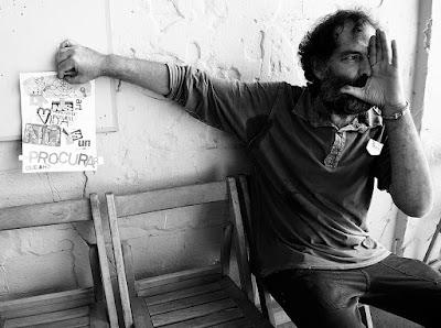 Xavi Giol al taller literari