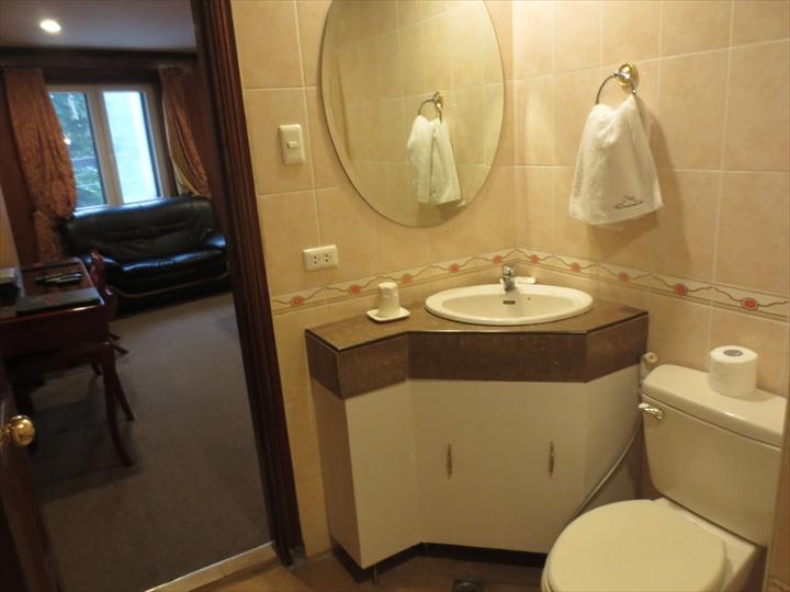 ホテル・ロイヤルアムステルダムのトイレと洗面(1)
