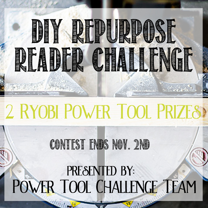 Power Tool Challenge Giveaway Image