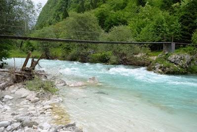 Brücke über die Soca