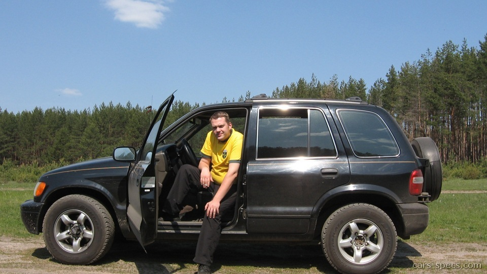 2000 kia sportage suv specifications pictures prices. Black Bedroom Furniture Sets. Home Design Ideas