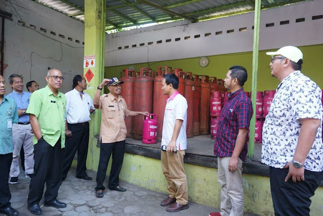 Lebaran, Persediaan Gas Elpiji 3 kg di Klaten Aman