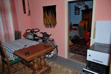 Unsere Räder in der kleinen Wohnung