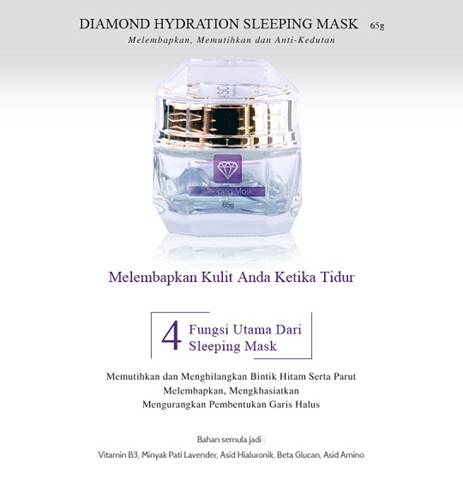 LA' SOUL DIAMOND WHITE HYDRATION SLEEPING MASK 4