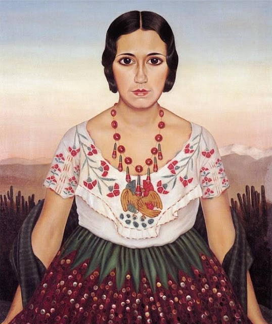 Christian Schad - Mexican Girl (Erlinda Ponce de Leon), 1930