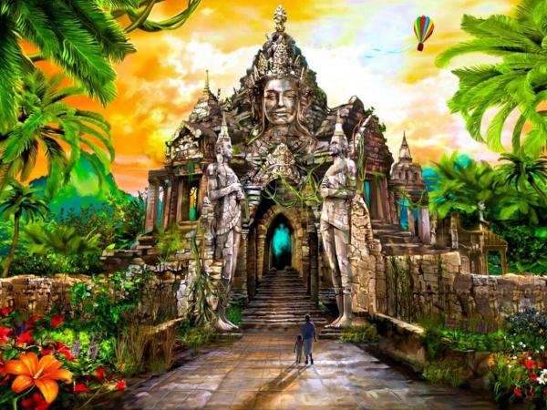 Cathedral Of The Ancient Gods, Magical Landscapes 1
