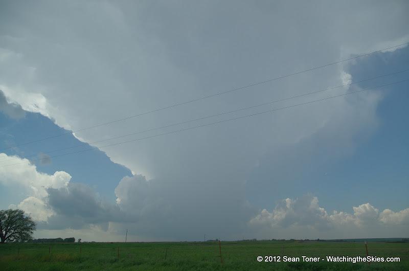 04-14-12 Oklahoma & Kansas Storm Chase - High Risk - IMGP0353.JPG