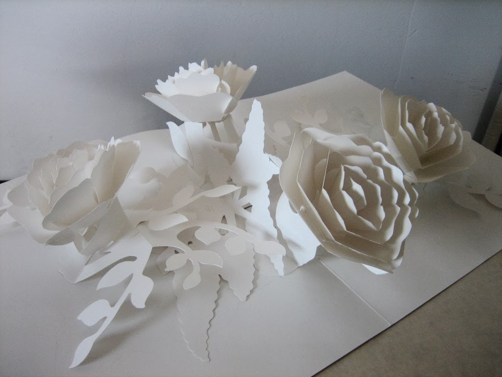 paper blossoms