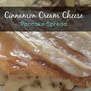 Cinnamon Cream Cheese Pancake Spread Recipe